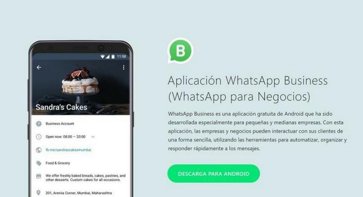 ¿Qué te parece WhatsApp para negocios?
